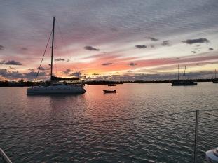 Sunrise. Green Turtle Cay